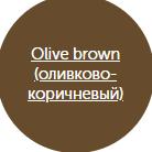 Оливково-коричневый (olive brown)
